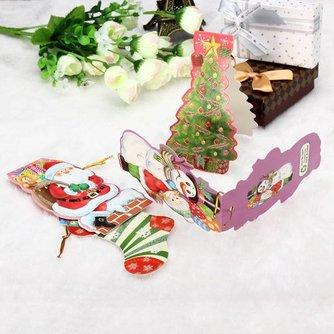 Kersthangers Papier 4Stuks
