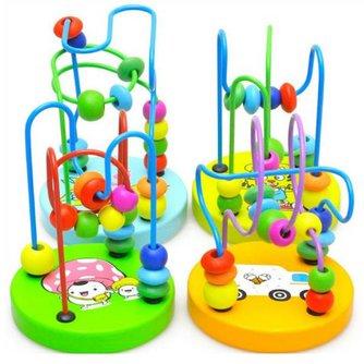 Kleurrijk Speelraam van Hout voor Baby's