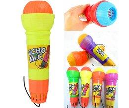 Toffe kindermicrofoon met echo-effect