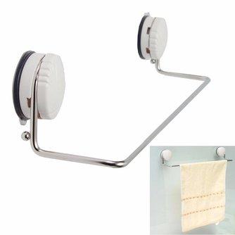 Handdoekrek van Roestvrij Staal met Zuignap