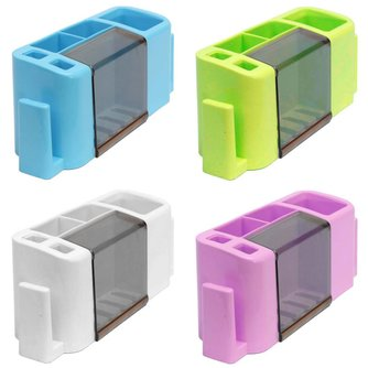 Plastic Tandenborstelhouder In Verschillende Kleuren