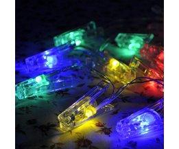 LED Snoer Met 20 Fotoclips