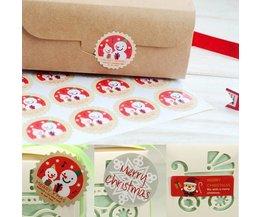 Kerstkoekjes Bakken Stickers