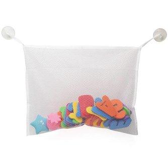 Opbergnet Badspeelgoed met Zuignap Bevestiging