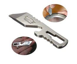 Multifunctionele opener met oa flesopener en schroevendraaier