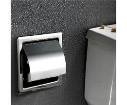 Inbouw Toiletrolhouder van Roestvrij Staal