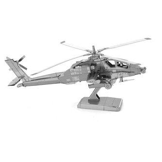 Model Helicopter 3D Puzzel van RVS