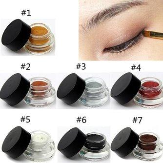 Gel-Eyeliner in 7 Kleuren
