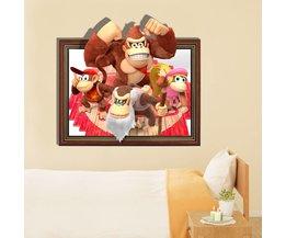 Donkey Kong Sticker voor aan de Muur