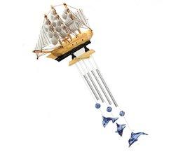 Windvanger Boot en Dolfijnen