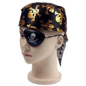 Piratenmuts met Ooglapje