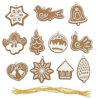 Kerstboomversieringen 11 Stuks