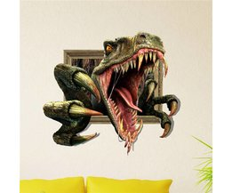 Dinosaurus Muursticker 3D