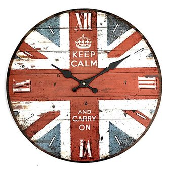 Retro Klokken met Union Jack Design