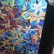 Kleurrijke Statische Raamfolie met Orchidee Patroon 3M
