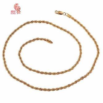 Gouden halsketting 18K