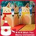 Kerstkaarten met Kerstman of Ander Figuur (5 Stuks)