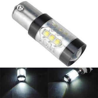 Witte LED remlichten auto