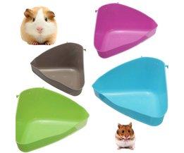 Hamstertoilet van Plastic