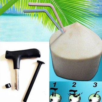 Handige Kokosnoot Opener