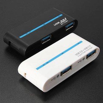 USB-hub met 4 Poorten