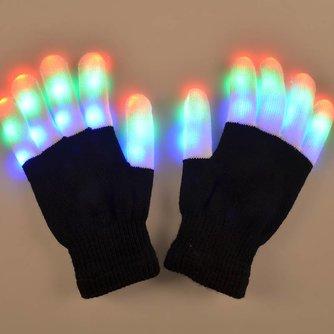 LED handschoen Paar