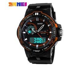 SKMEI Analoog-Digitaal Horloge