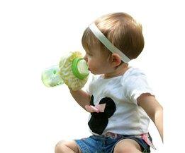 Anti-Lek Slabbetje voor het Flesje van je Baby