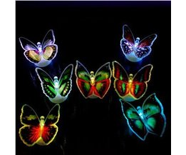 Glow in the Dark Vlinders (6 Stuks)