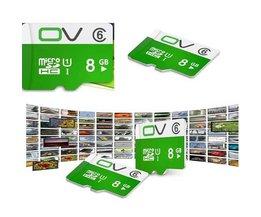 OV Micro SD-Kaartje 8GB