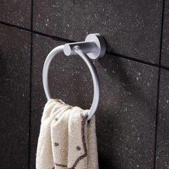 Aluminium Handdoekring voor in de Badkamer