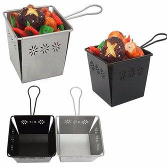 Frituurmandje voor het Serveren van Eten