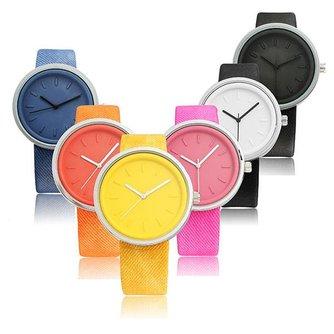 Modern Gekleurd Horloge