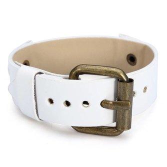 Wit PU Leren Horlogebandje 20mm