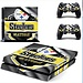 Sticker voor Playstation 4 Pittsburgh Steelers