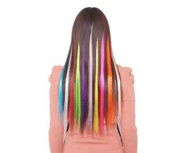 Hairextensions Gekleurd (5 Stuks)