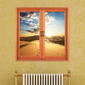 3D raam muursticker