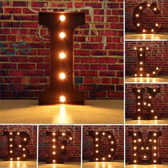 LED Letter s