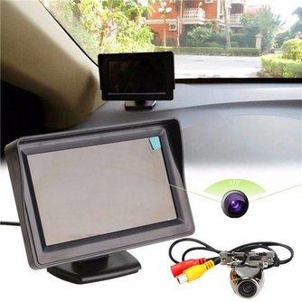 Achteruitrijcamera Met Een Monitor