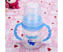 Babyflesje met Temperatuursensor (150ml)