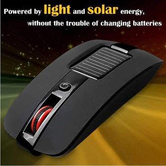 Draadloze Optische Solar Muis 2.4GHz