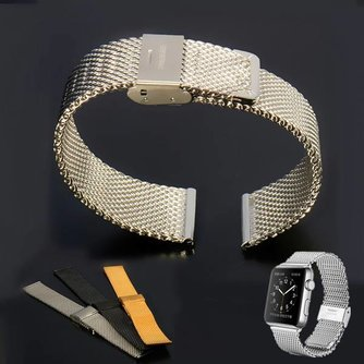 Roestvrij Stalen Horlogeband voor Apple Watch 38mm