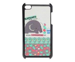 Case voor iPod Touch 4 met Olifant