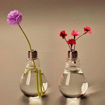 Moderne Vaas in Vorm van Lampje
