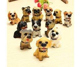 Plastic Puppies 12 Stuks