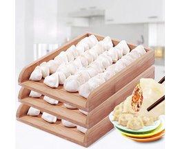 Driedelig Houten Blad Voor Dumplings