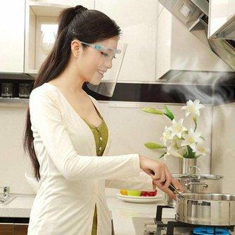 Handig Anti-Olie Masker voor in de Keuken
