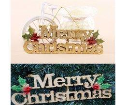 Hangdecoratie Merry Christmas