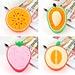 Schoonmaaksponsjes in Fruitvorm (4 Stuks)