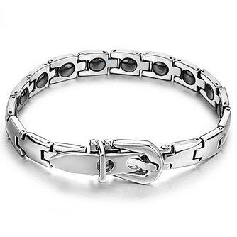 Zilveren Roestwerende Armband voor mannen